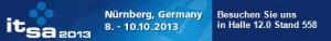 Banner it-sa 2023 Stand Halle 12.558