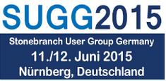 Logo der SUGG 2015