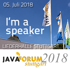 Java Forum Stuttgart Speaker Button